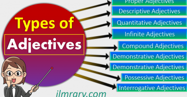 Adjective Definition and All Types with Examples