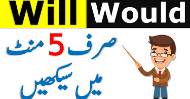 Use of Will and Would with Urdu Examples