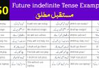 150 Future indefinite Tense Sentences with Urdu Translation